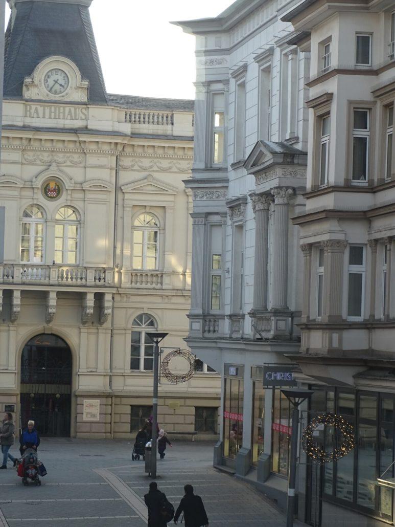 Blick auf Altes Rathaus