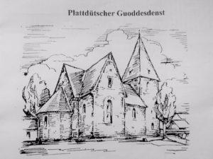 Flyer Gottesdienst - Foto Johanneskirche Hennen
